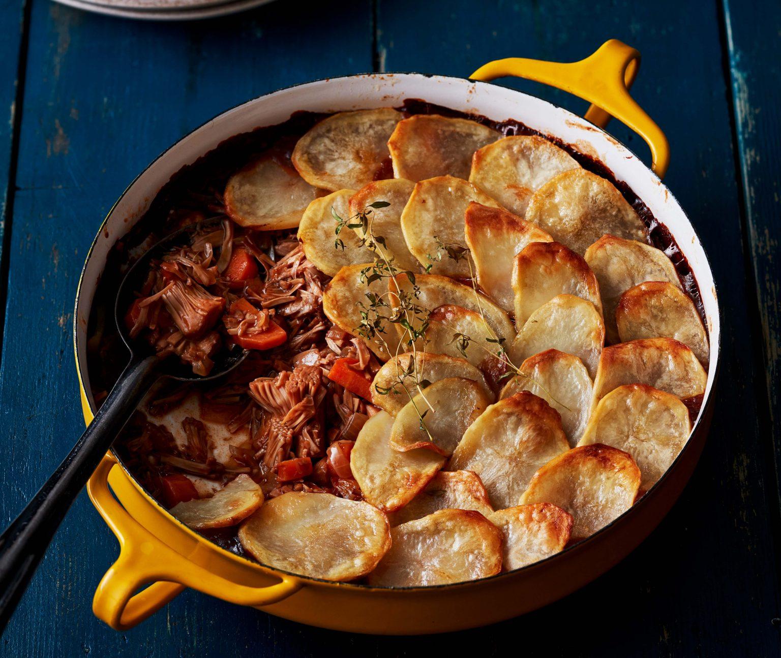 Vegan Lancashire Hotpot