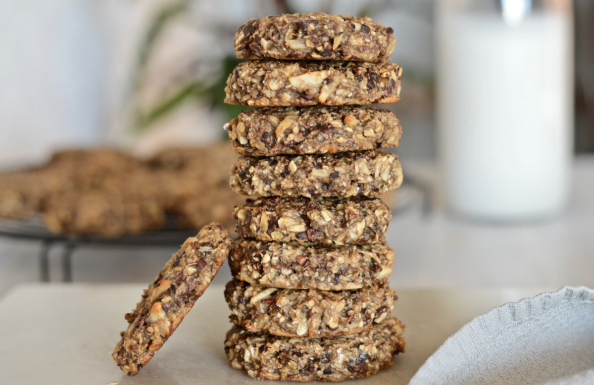 Healthy Breakfast Cookies [Vegan]
