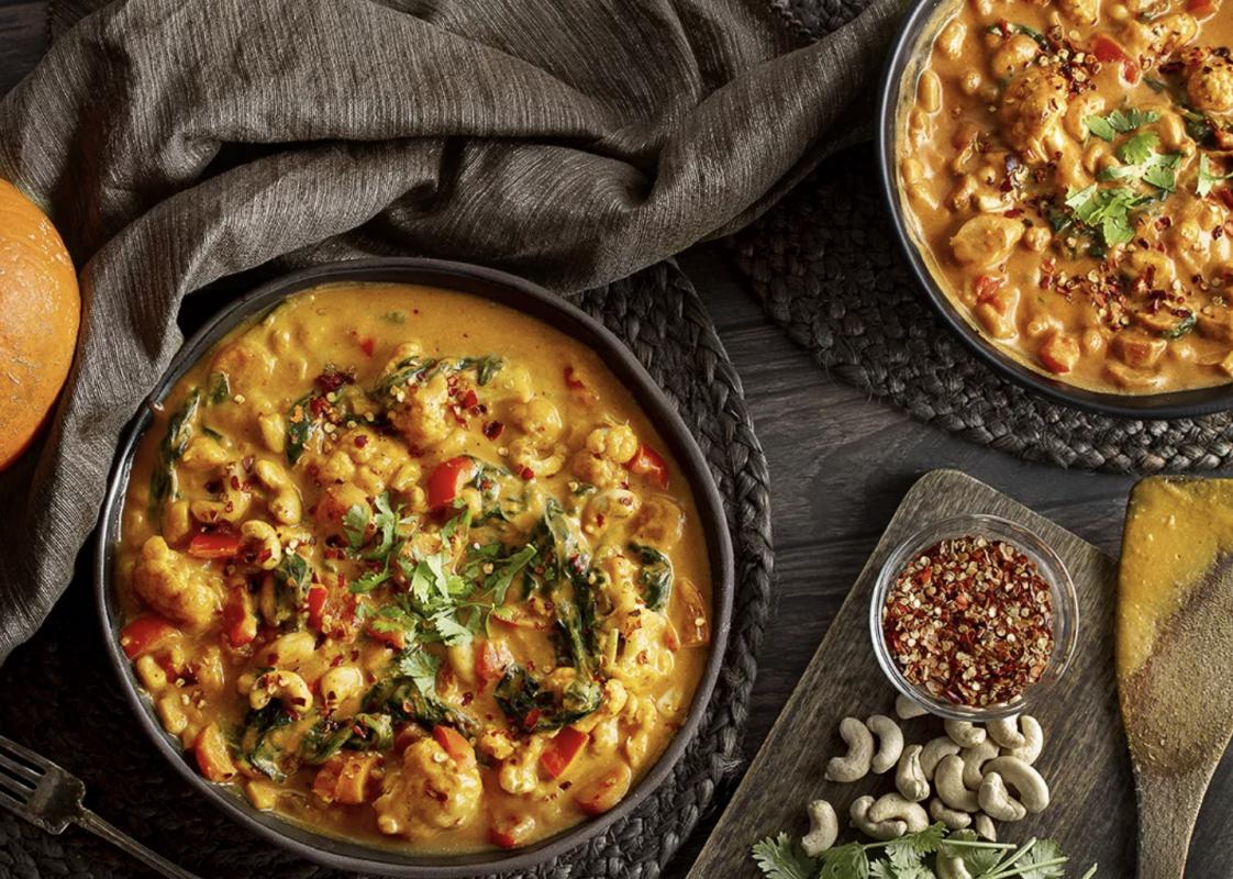 Vegan Creamy One-Pot Pumpkin Curry