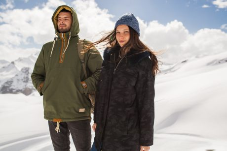 couple in coats