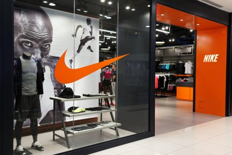 Nike store front