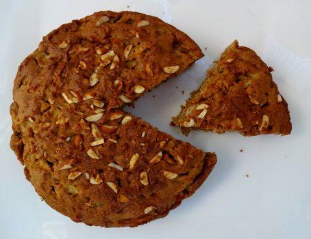 Easy Vegan Whole Wheat Apple Cake