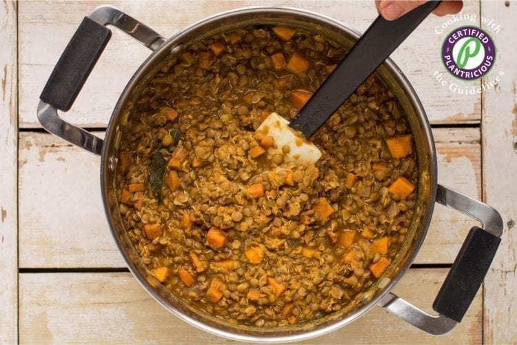 Vegan Sweet Potato Lentil Stew
