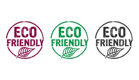 Eco friendly stamp icons in few color versions.