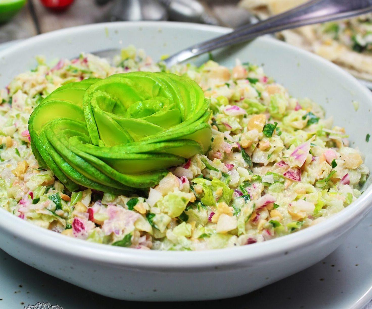 Garbanzo Salad [Vegan]