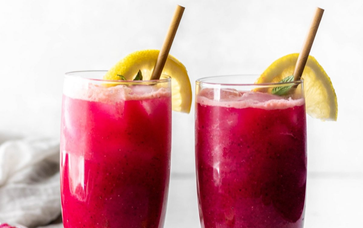 Vegan Mango Dragonfruit Refresher