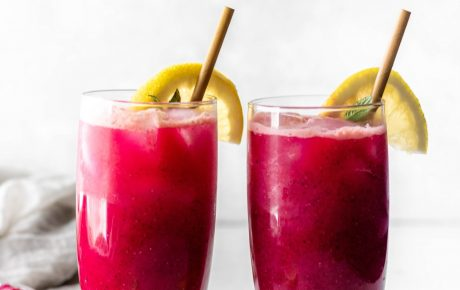mango dragonfruit refresher
