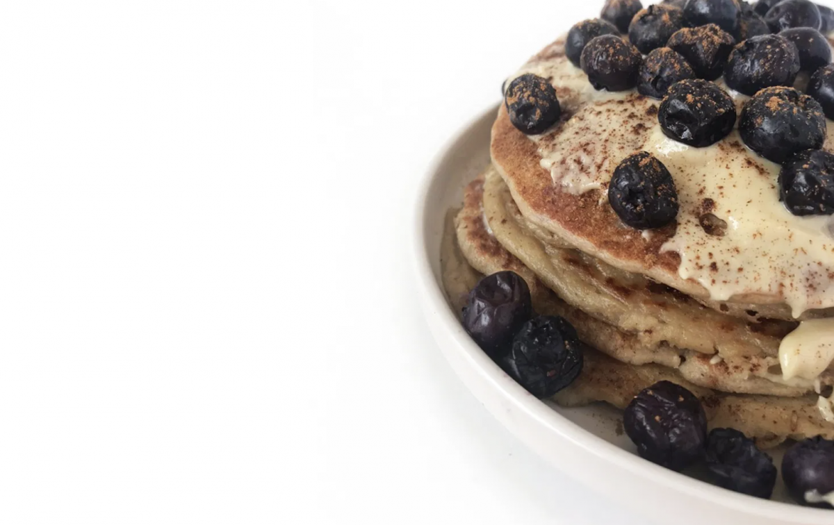 Vegan 3 Ingredient Vegan Flourless Pancakes