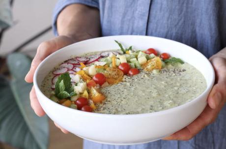 Healthy Lentil and Vegetable Hummus
