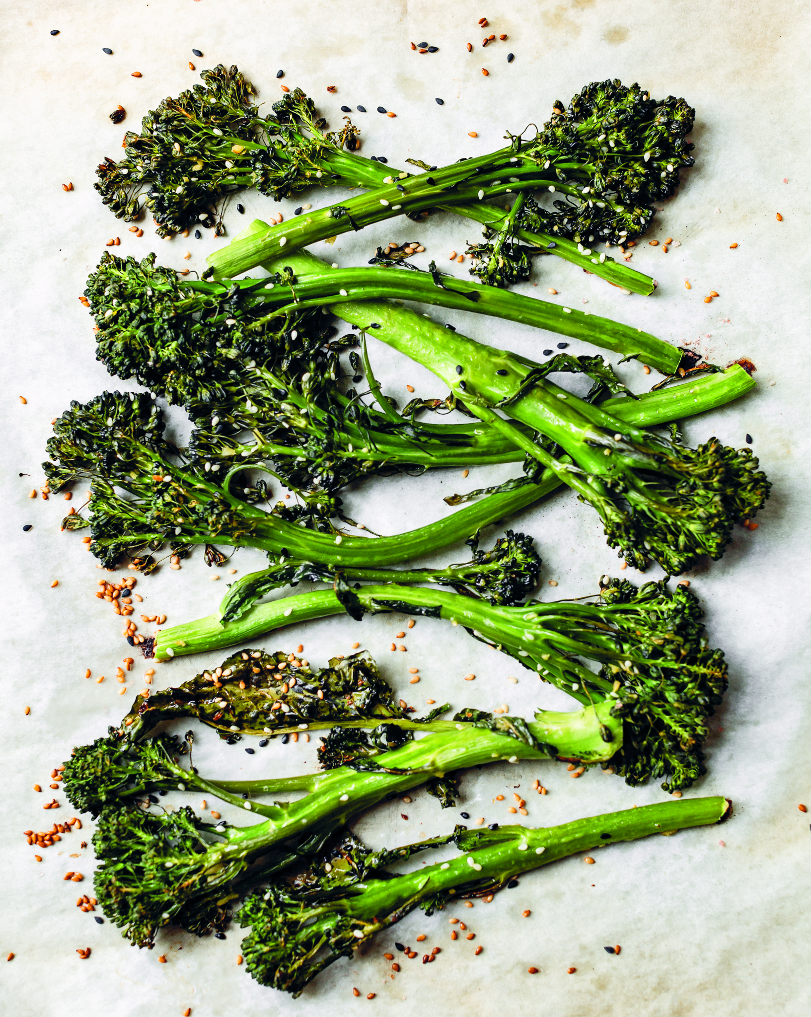 Vegan Sesame Broccolini