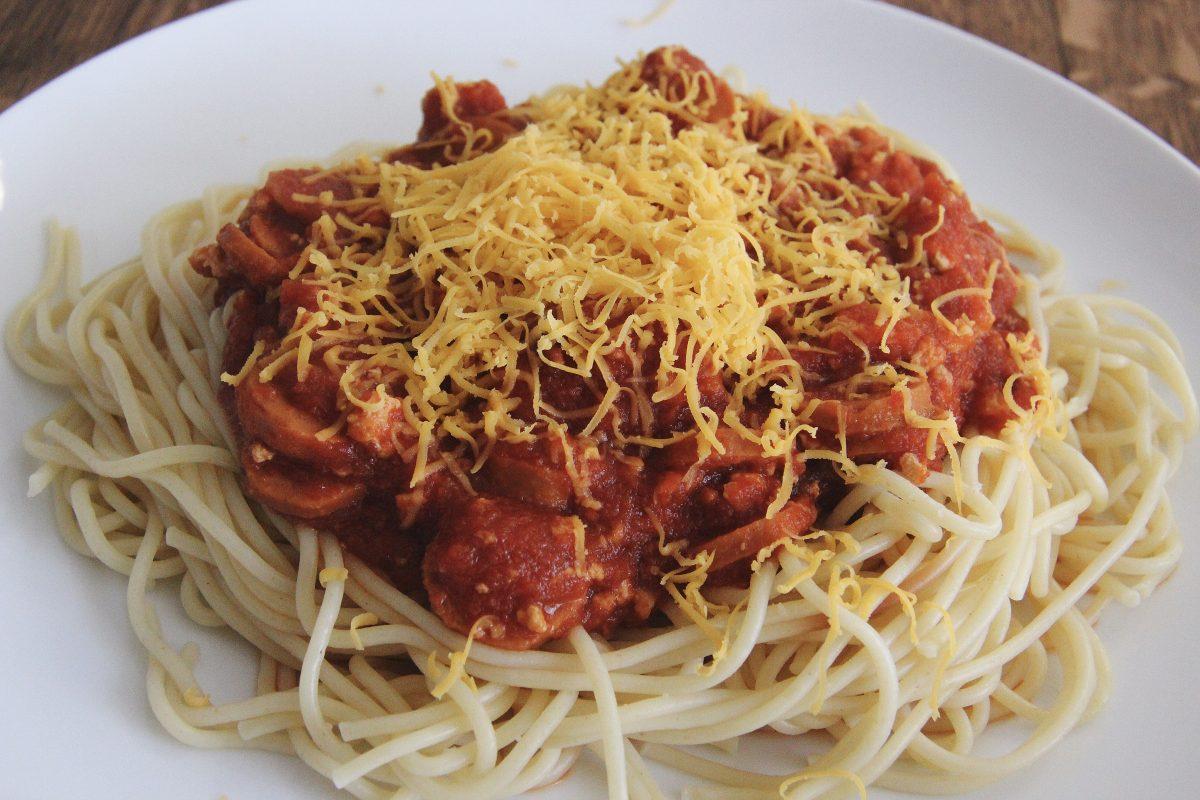 Photo of Filipinx-Style Spaghetti [Vegan]