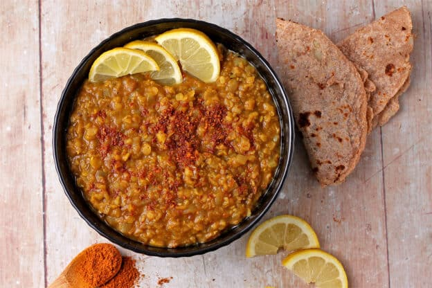 Misir Wot (Ethiopian lentil stew) [Vegan]