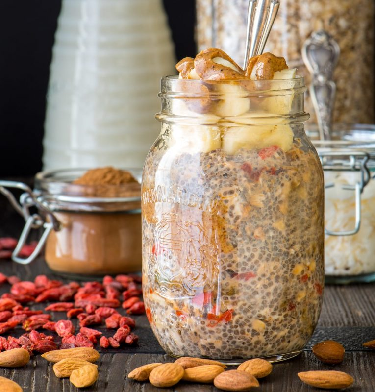 Nut Butter Overnight Oats