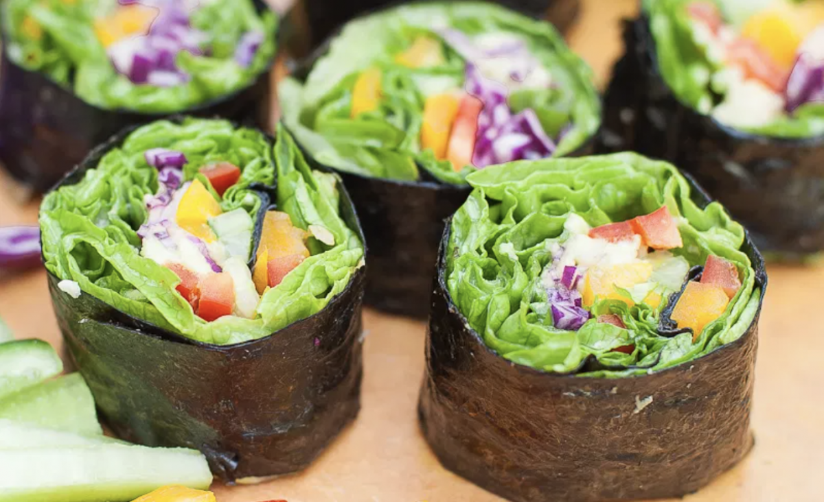 Easy and Delicious Veggie Sushi Rolls