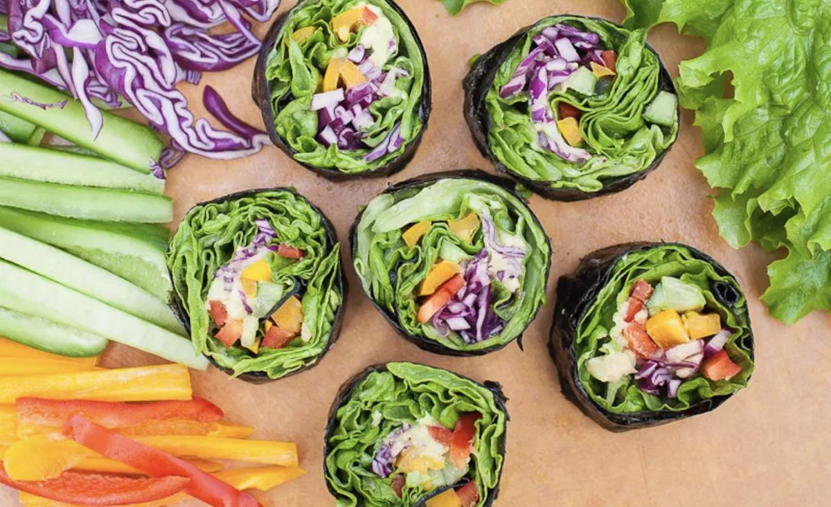 Vegan Easy and Delicious Veggie Sushi Rolls