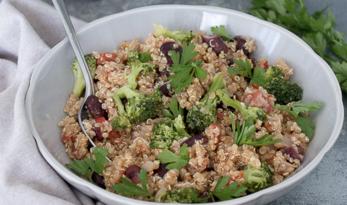 One Pot Quinoa Dish