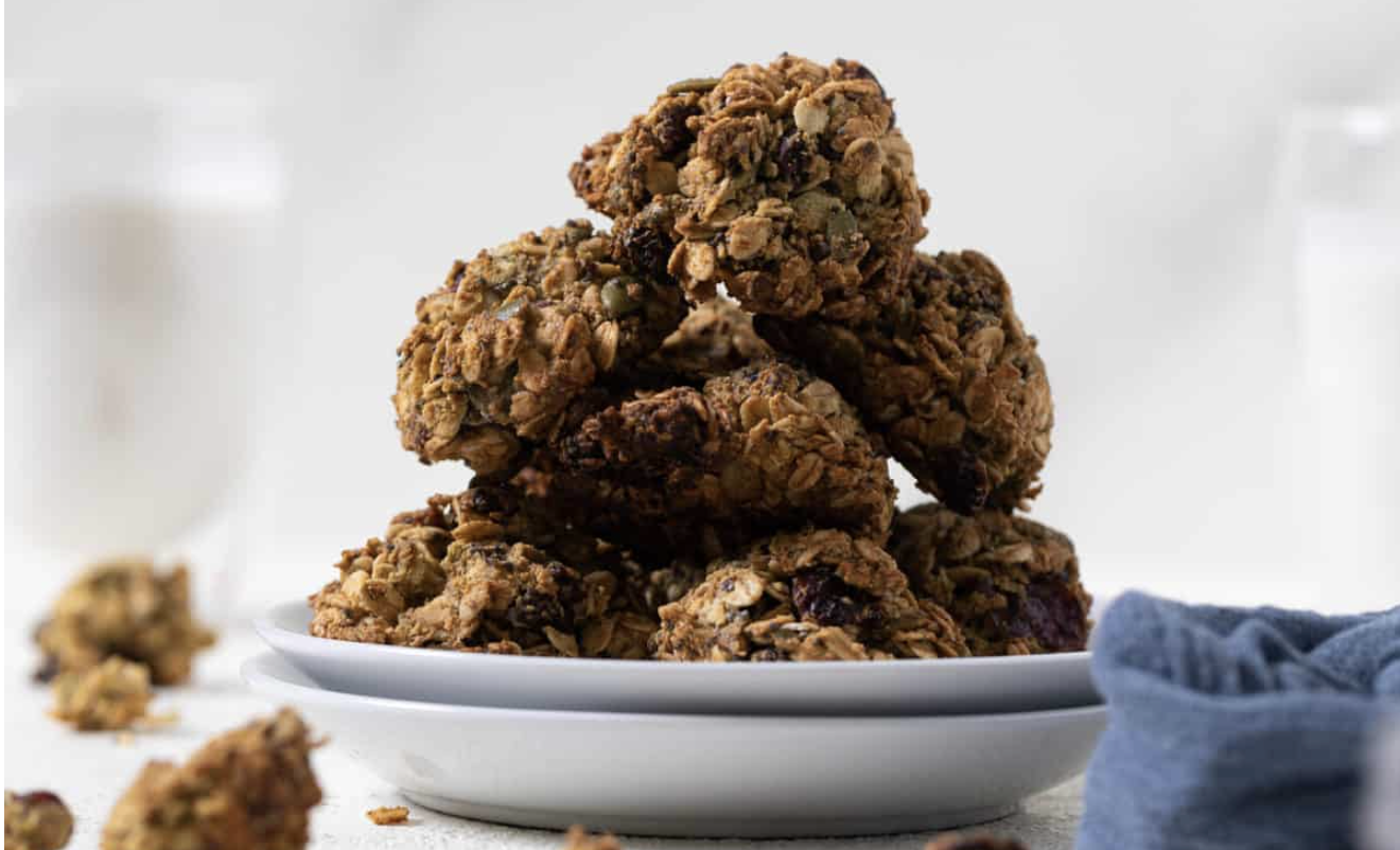 Superfood Breakfast Cookies [Vegan, Gluten-Free]