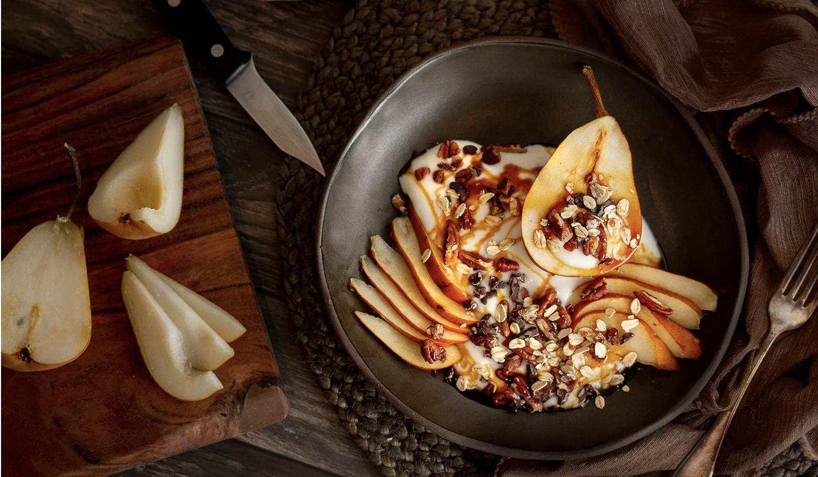 Yogurt & Pear Breakfast Bowl