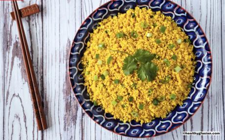 turmeric cauli rice