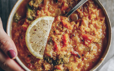 One-Pot Curried Lentils