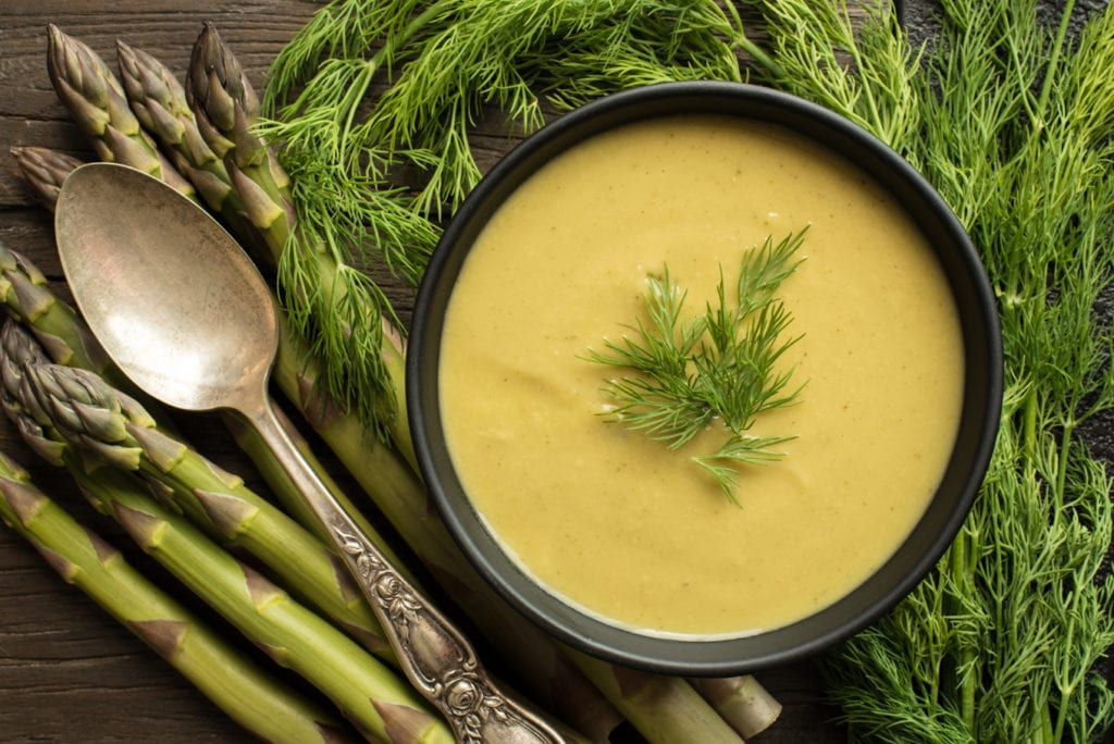 Vegan Spring Detox Soup