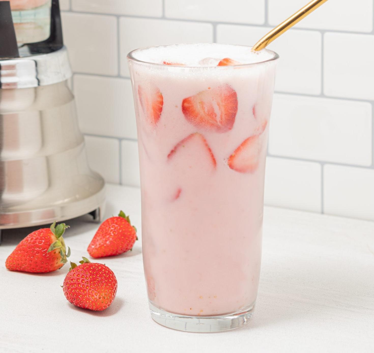 Pink Coconut Drink