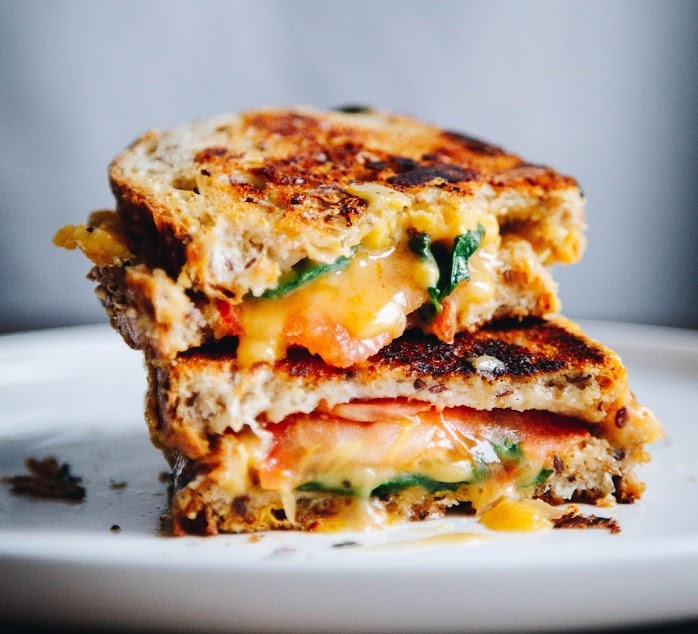 The Ultimate Vegan Grilled Cheese Sandwich