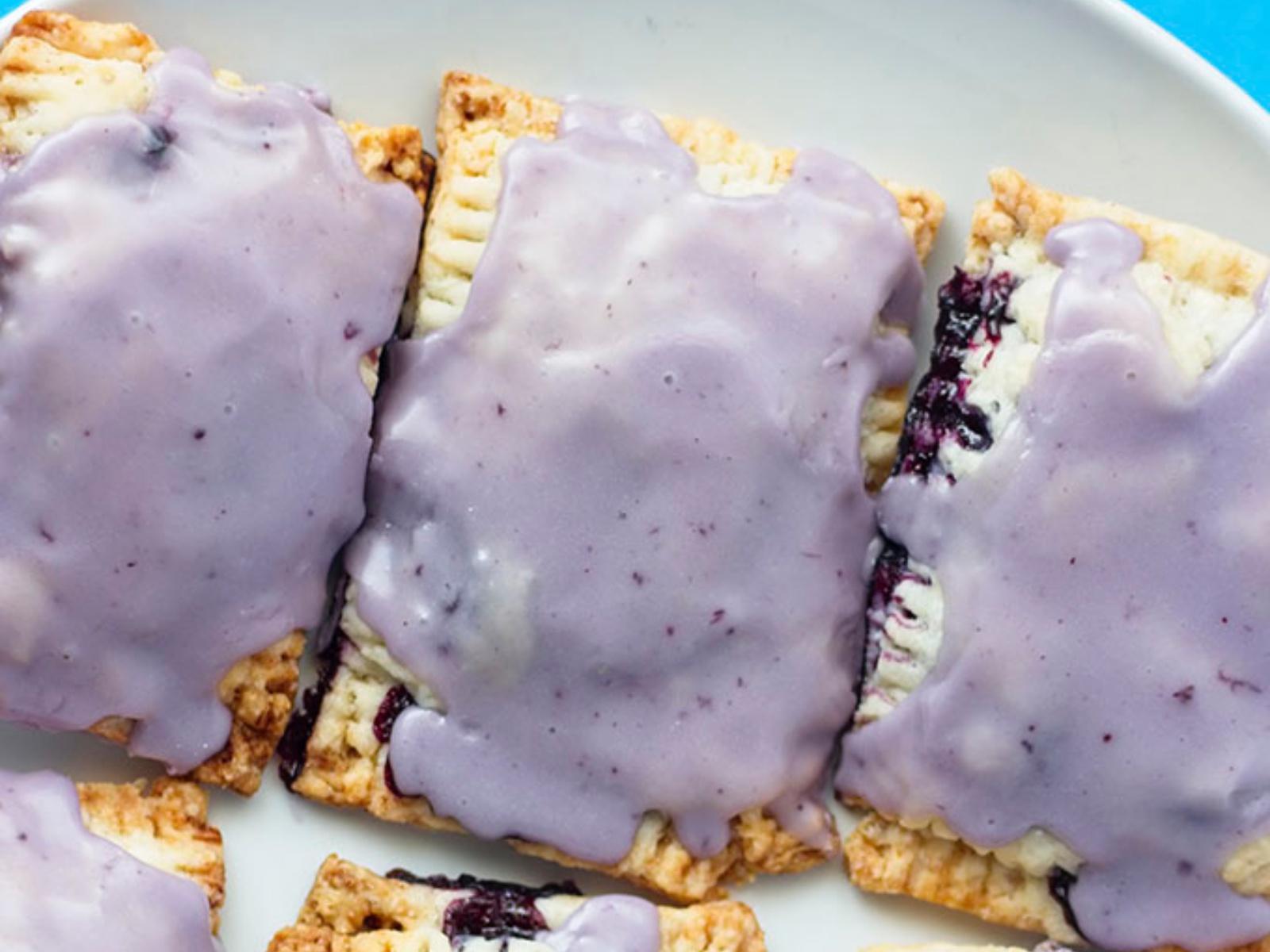 Blueberry Poptarts