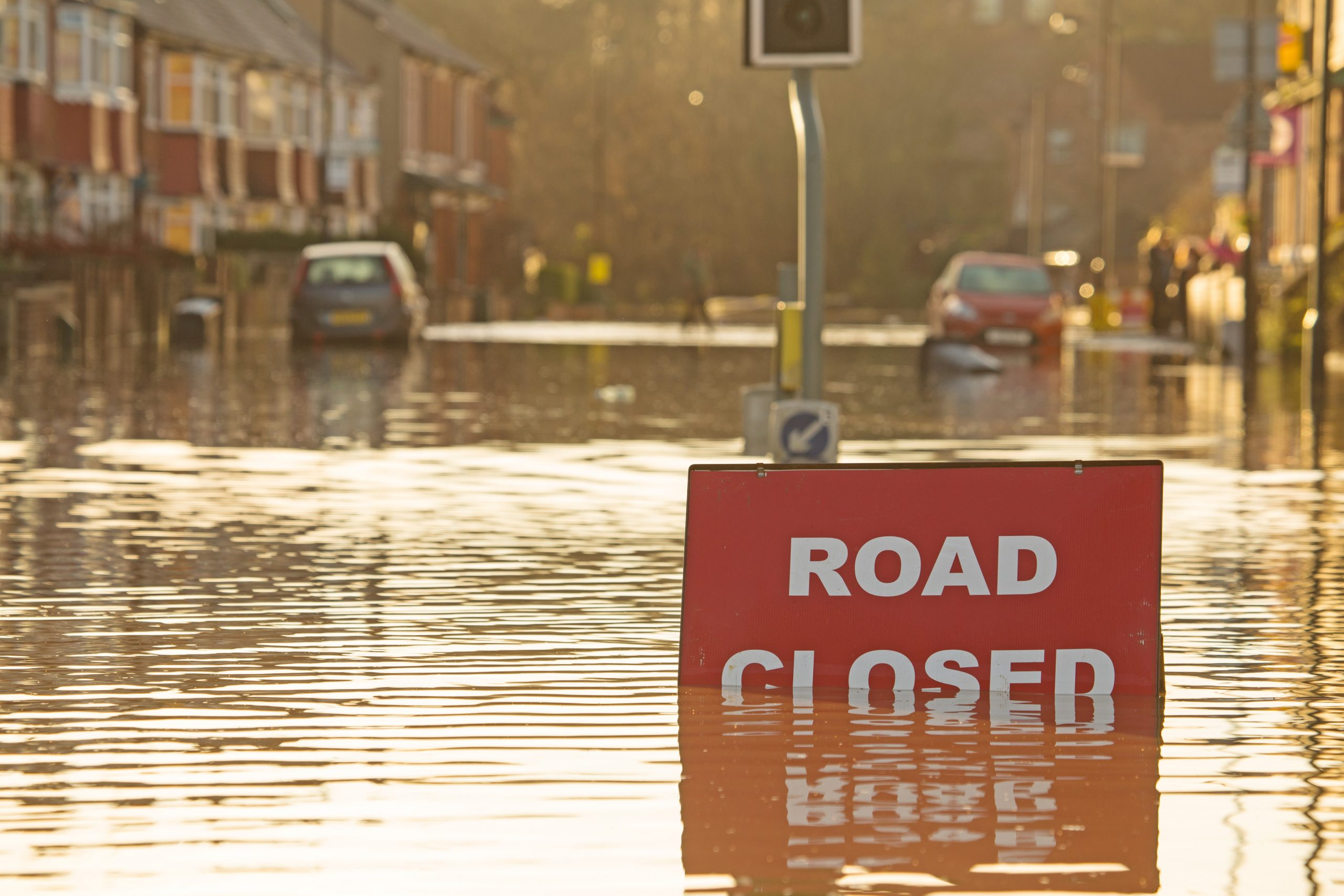 flood road closed