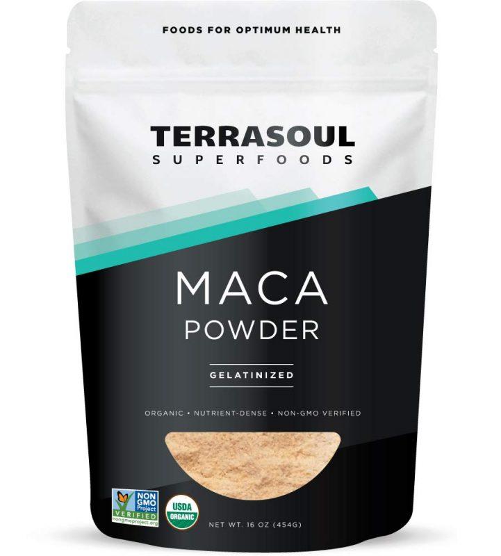 Terrasoul Superfoods Bio-Gelatinisiertes Maca-Pulver
