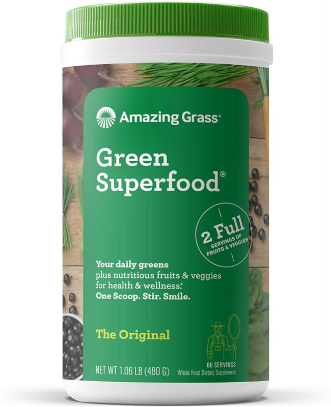 Amazing Grass Green Superfood: Super Greens Pulver