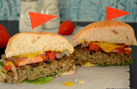 Chicken and Mushroom Burger