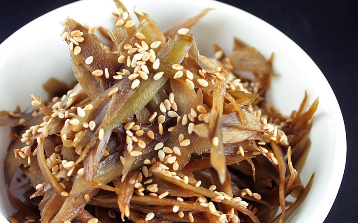 Kinpira Gobo: Japanese Sautéed Burdock Root