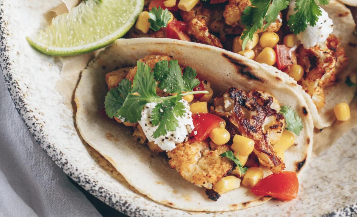 Cajun-Spiced Cauliflower Tacos [Vegan]