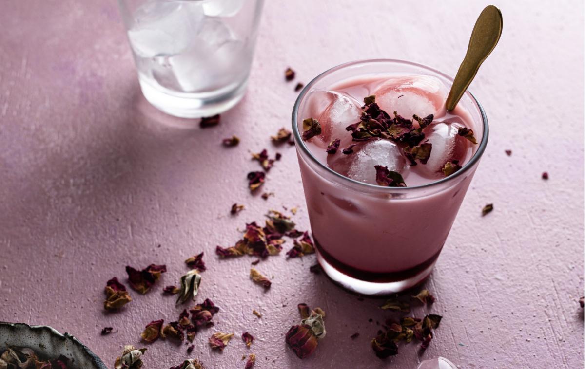 Pink Ice Latte