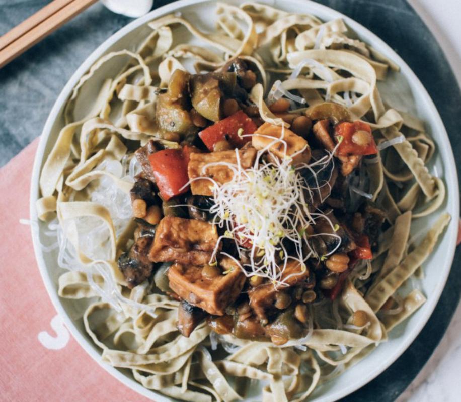 Vegan Easy Sweet & Sour Tofu