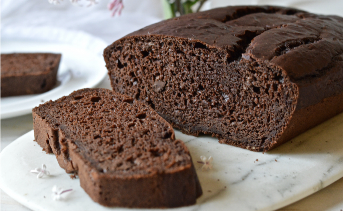 Vegan Healthy, Moist & Melt-In-Your-Mouth Chocolate Cake