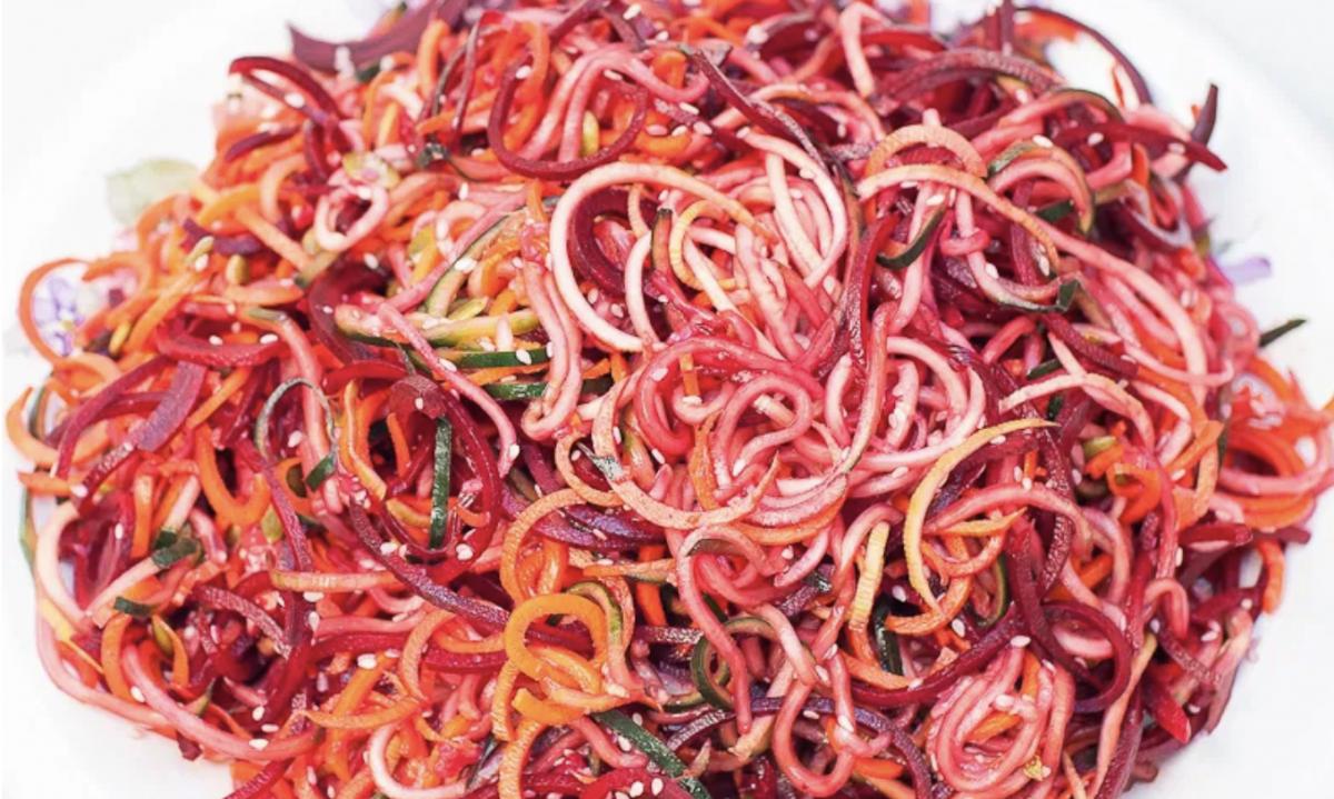Vegan Fiesta Spiralized Salad