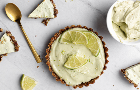 Mini No Bake Key Lime Pies