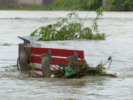 Flooding with bench
