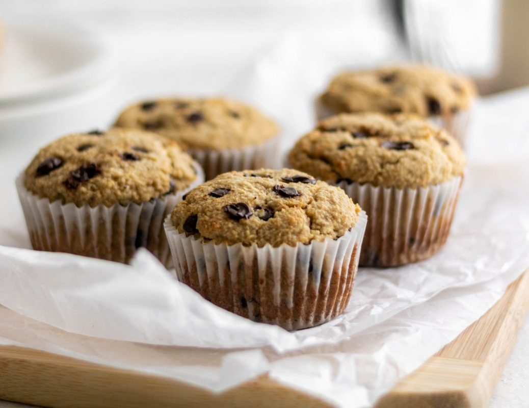 Vegan Healthier Vegan Almond Flour Banana Bread Muffins