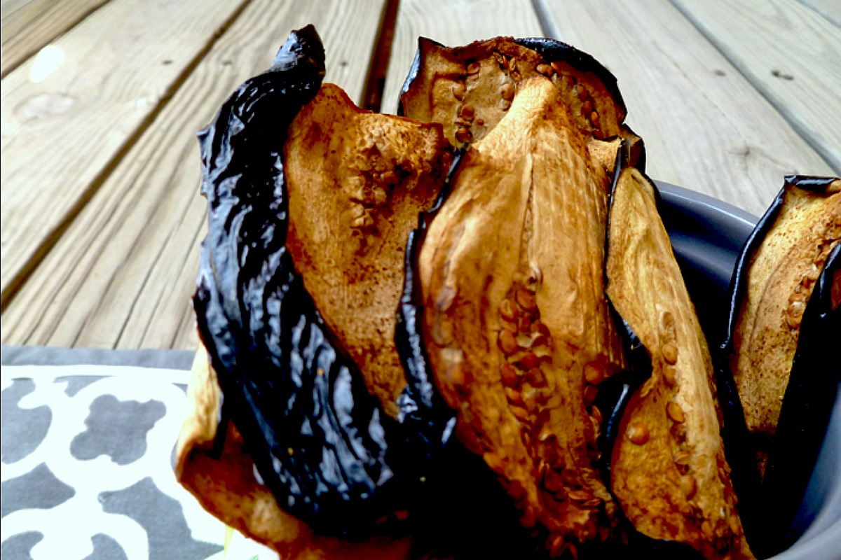 Eggplant Jerky