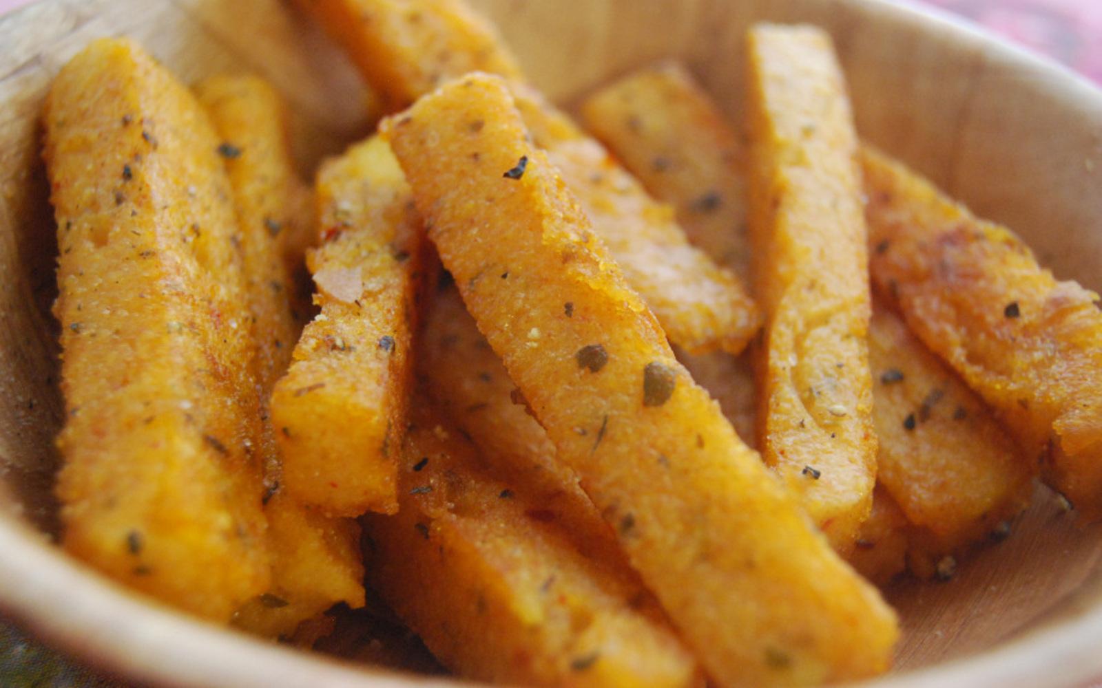 Paprika and Oregano Polenta Fries