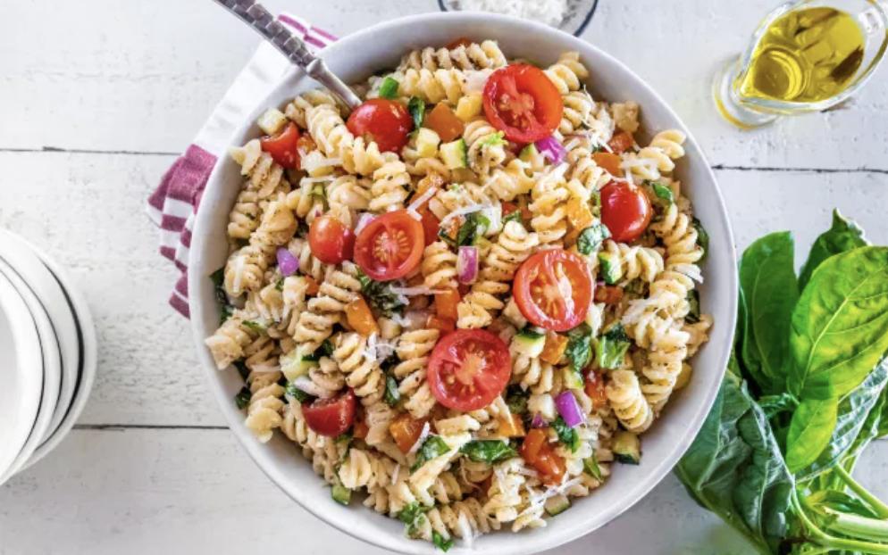 Vegan Cacio e Pepe Summer Pasta Salad