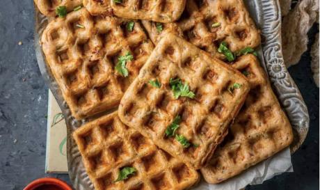 Savory Dosa Waffles