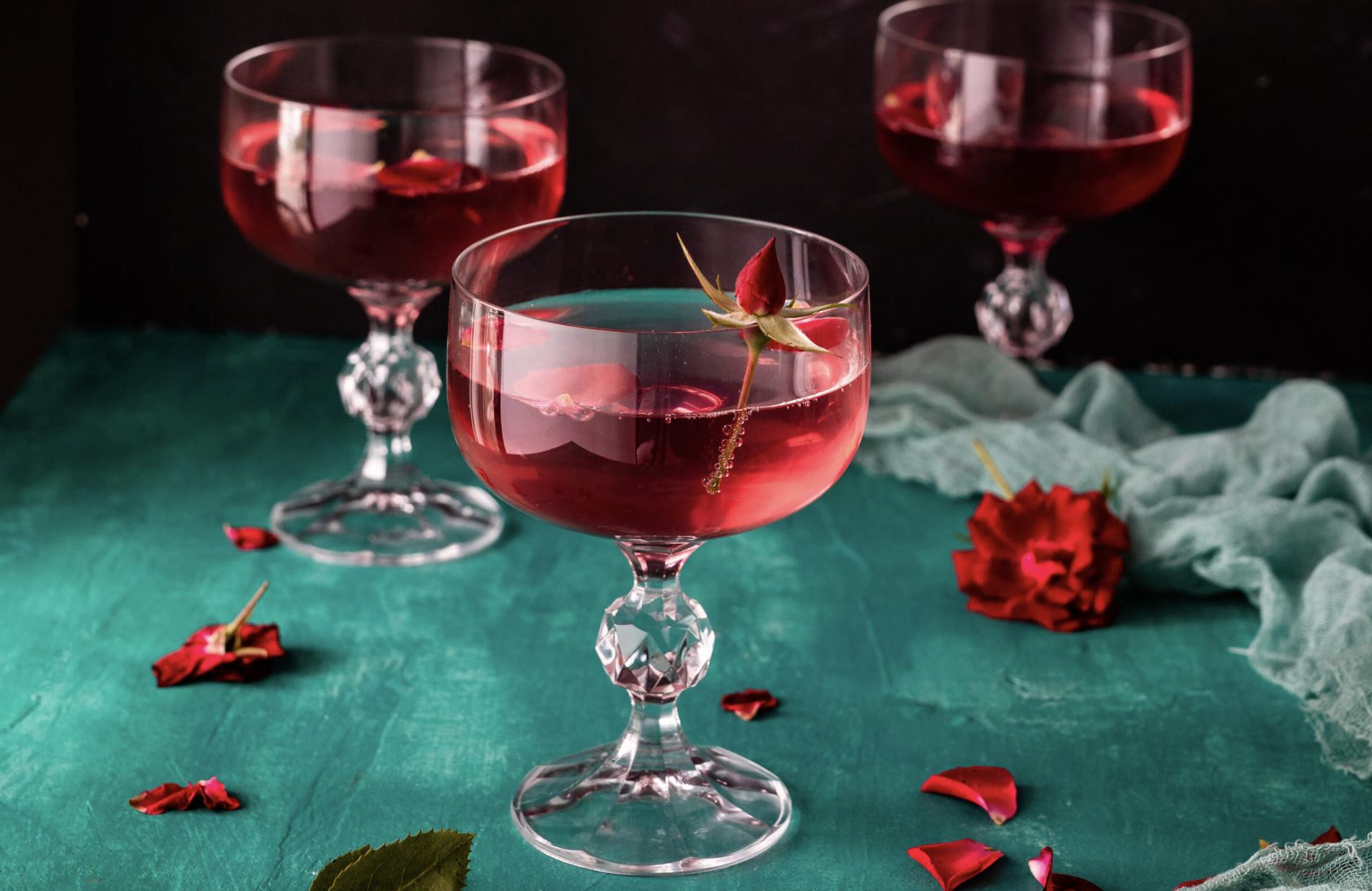 Rose Petals & Cardamom Syrup