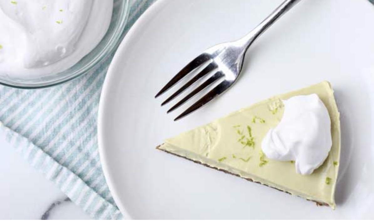 Vegan Avocado Key Lime Pie