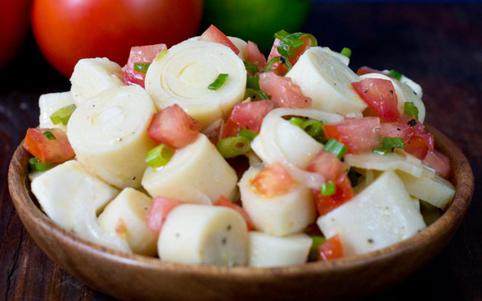 Salsa de Palmito: Brazilian Hearts of Palm Salad