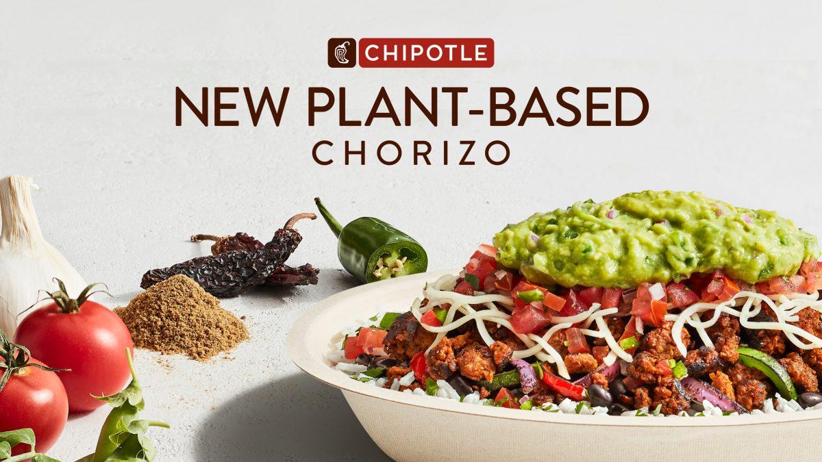 plant-based chorizo