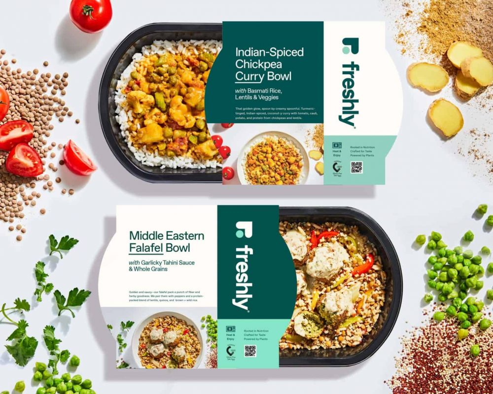 Freshly Just Launched Its First Range of Plant Based Meals